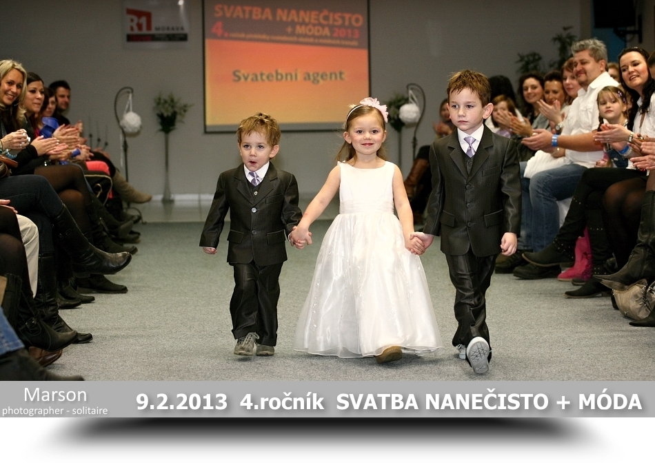 4.roèník Svatba naneèisto + móda 9.února 2013 v Pøerovì