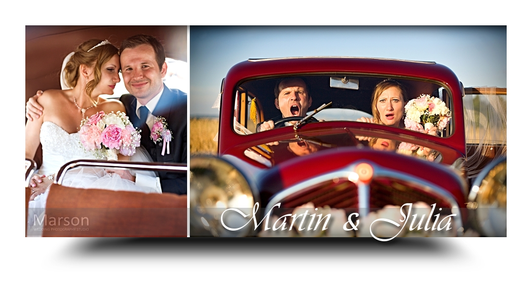 Julia & Martin FB just married