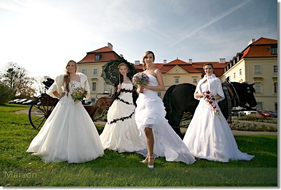 Reportáž Svatba na Zámku Napajedla 037