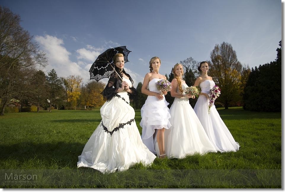 Reportáž Svatba na Zámku Napajedla 043