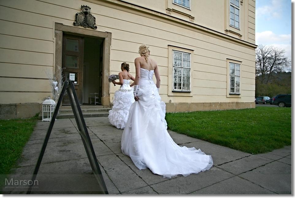 Reportáž Svatba na Zámku Napajedla 051