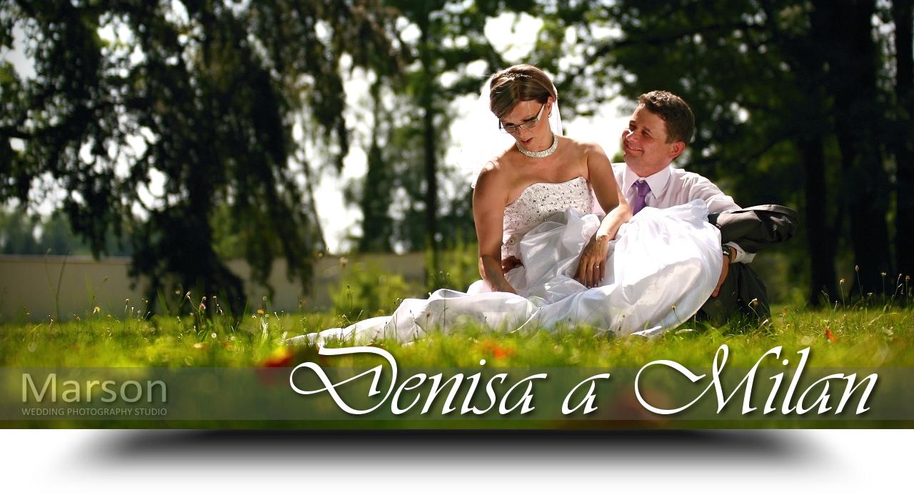 Svatba Denisa a Milan - Banner www_marson_cz